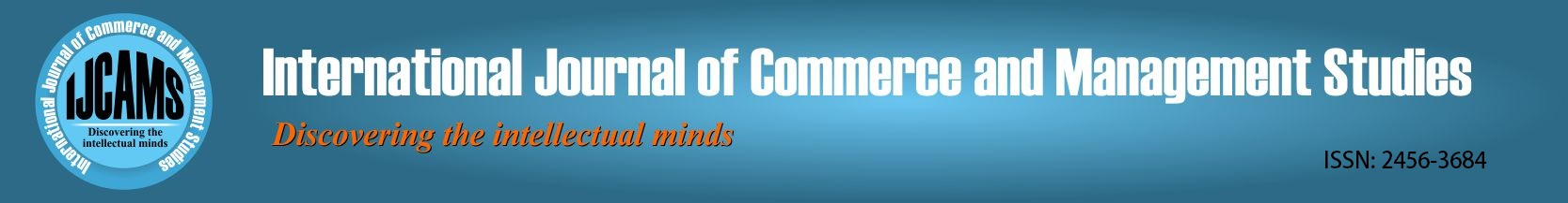 International journal of Commerce and Management Studies